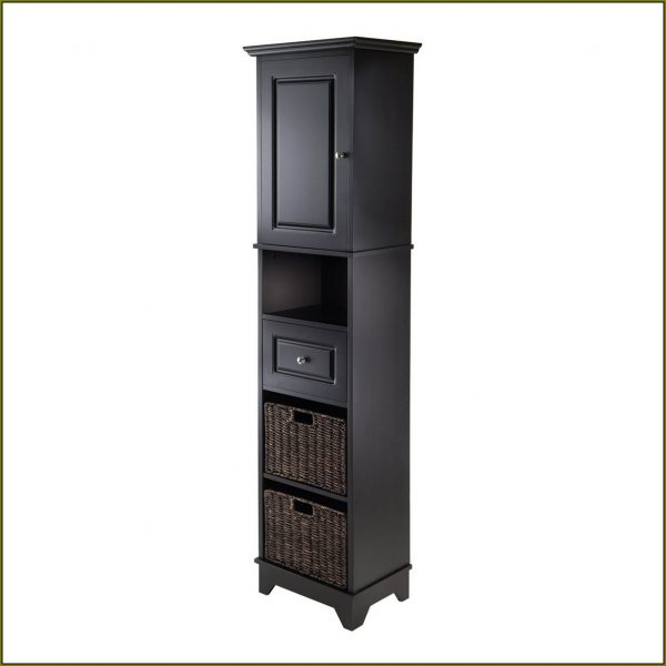 We Share Tall Linen Cabinet With Hamperhome Design Ideas Medium