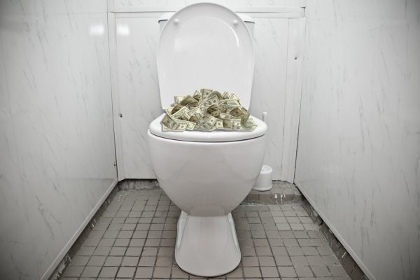 We Share The Mystery Of The Money In The Geneva Toilet Bowls Medium