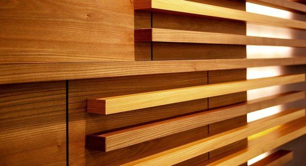 We Share Wood Slat Wall Ideas  Loccie Better Homes Gardens Ideas Medium