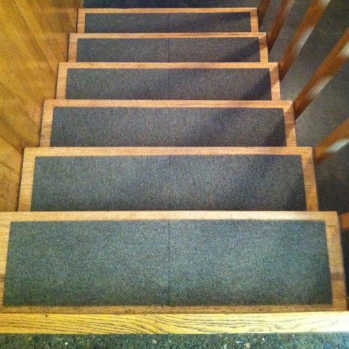 best diy stair treads out of flor tiles would love to see