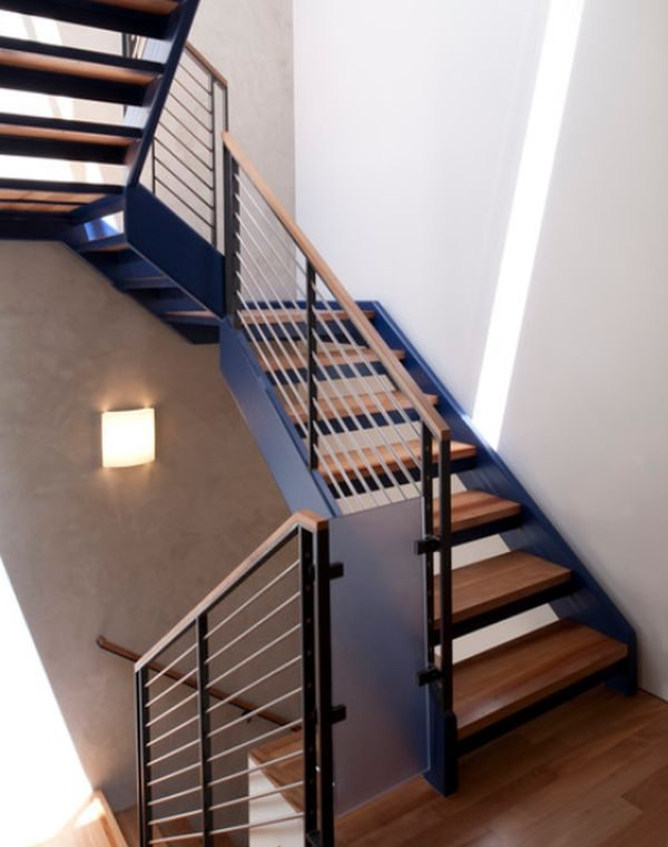 Browse Modern Handrail Designs That Make The Staircase Stand Out Medium