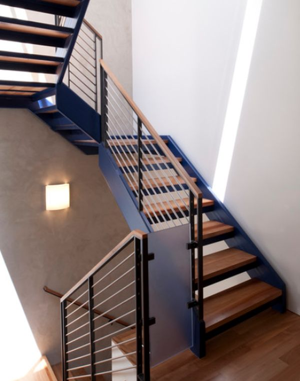 browse modern handrail designs that make the staircase stand out