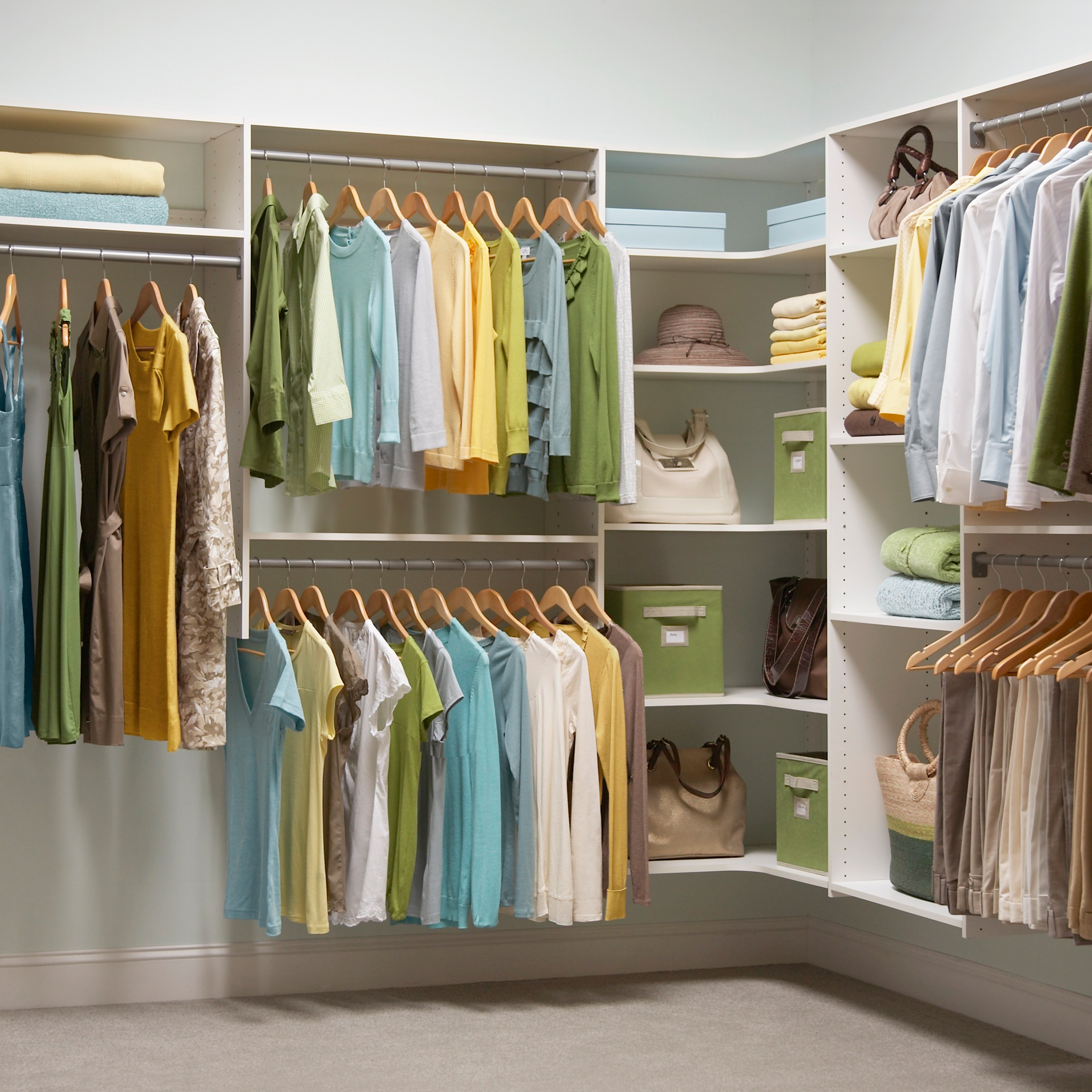 clever closet organization made simple by martha stewart living