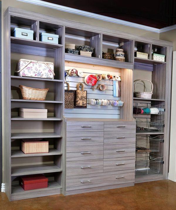 Closets To Go Reach In Craft Closet Organizer Laundry And Medium