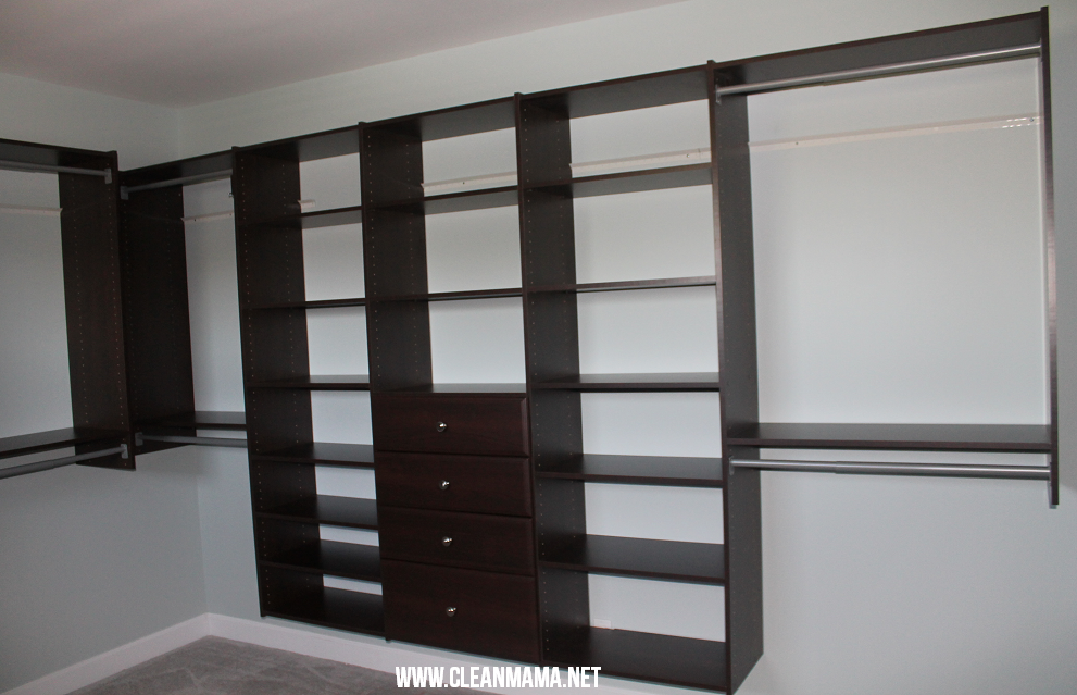collection simple bedroom with wall mounted martha stewart closets