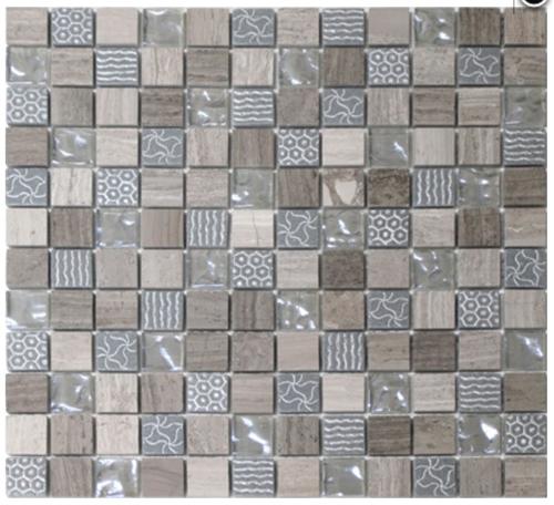 Cork Mix Mosaicwall Or Floor Mosaic Tiles Emc Tiles Medium
