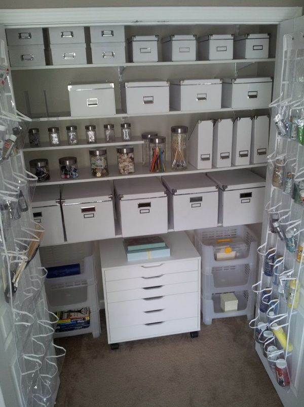 Craft Closet Organization IdeasHome Design Ideas Medium