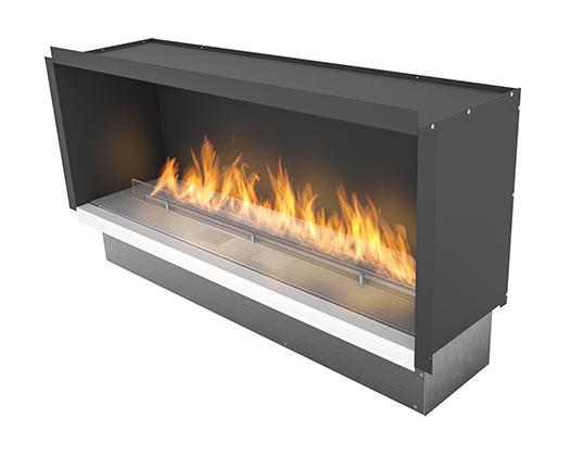 Creative Ribbon Ethanol Fireplace Insert  Fla 3 In Casing Aplanika Medium