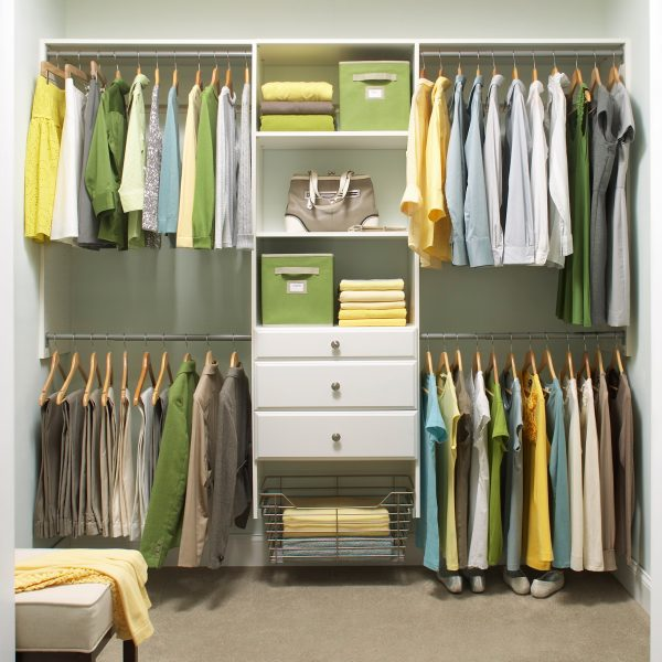 Example of a Closet Organization Made Simple By Martha Stewart Living