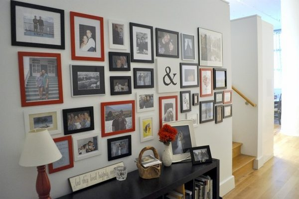 Example Of A How To Arrange A Photo Wall Tips And Creative Ideas Medium