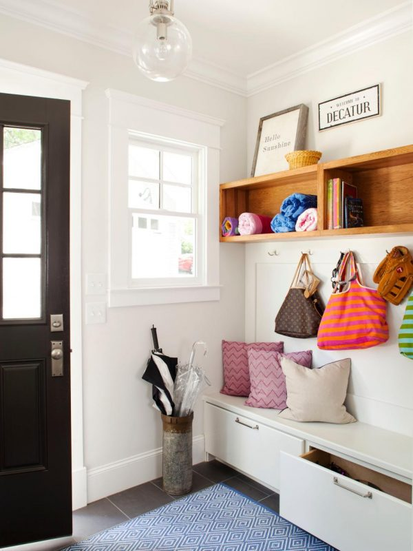 Example Of A Mudroom Storage Ideashgtv Medium