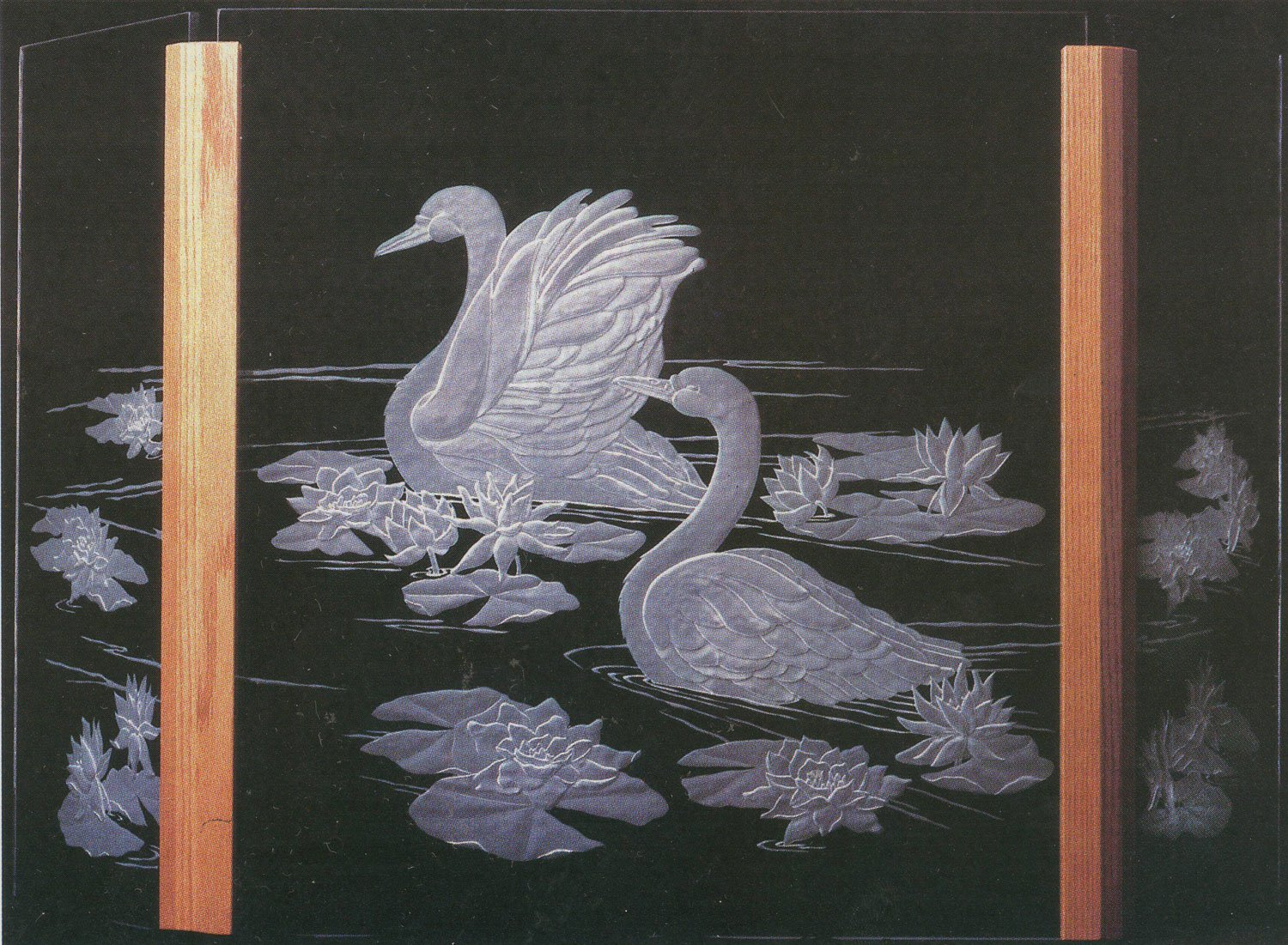 explore glass etching ii carving techniques and designs