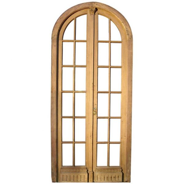 Fresh Arched Double Glass French Door At 1stdibs Medium