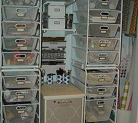 HometalkOrganized Craft Closet Medium