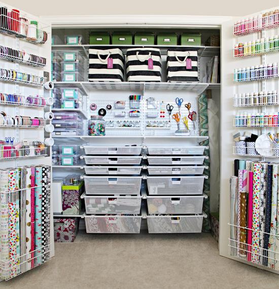 IHeart Organizing The Ultimate Elfa Craft Closet Organization Medium