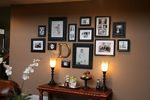 Innovative How To Arrange Photo Wall Medium