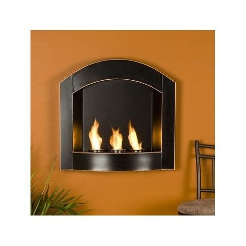 Innovative Wall Mounted Gel Fuel Fireplace Home Living Room Bedroom Medium