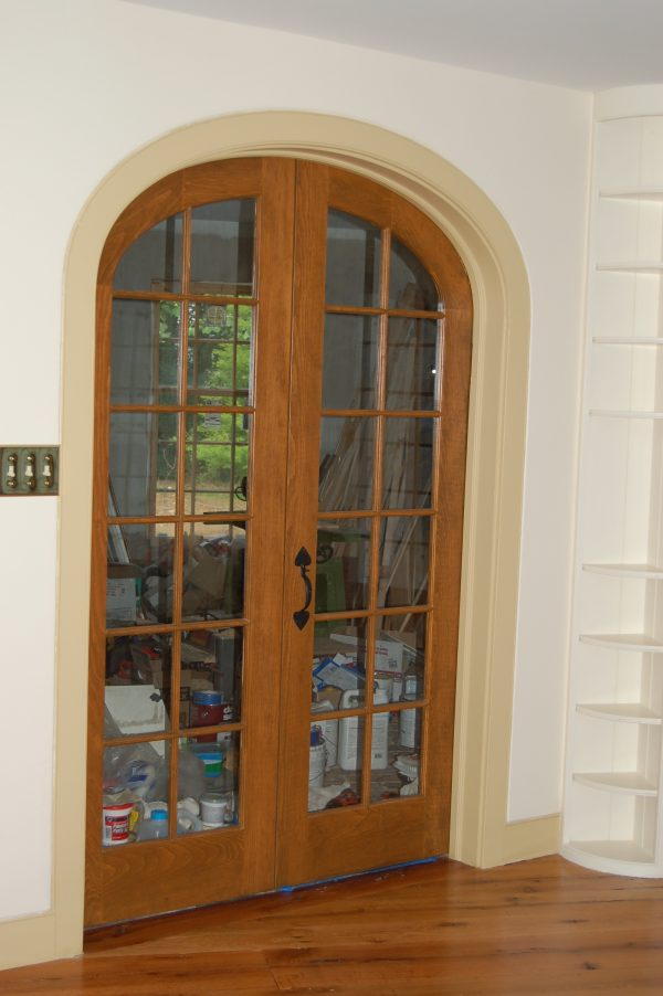 Inspiration Attractive French Doors With Arch Shape Design Also Teak Medium