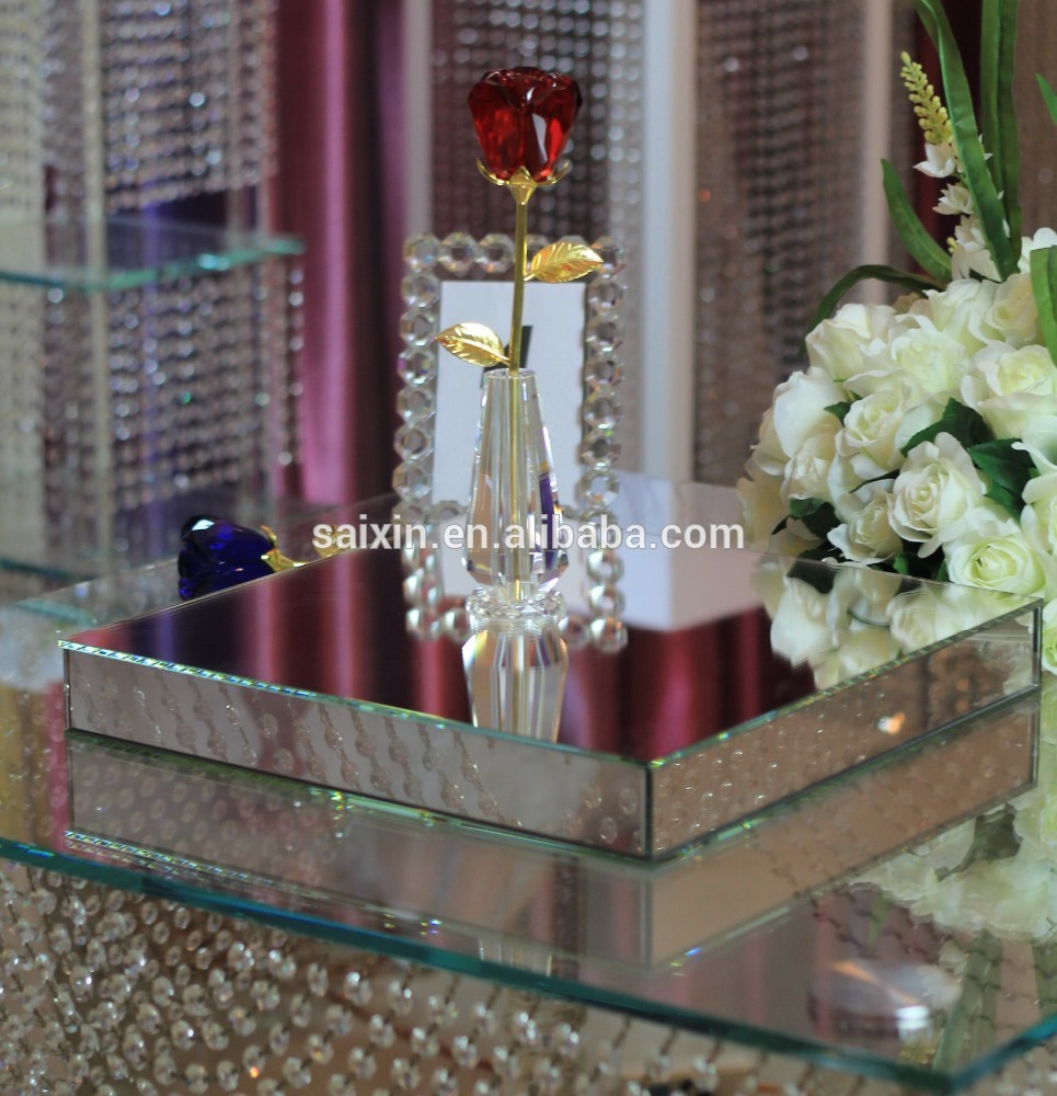 inspiration beautiful glass mirror box for wedding decor buy beveled