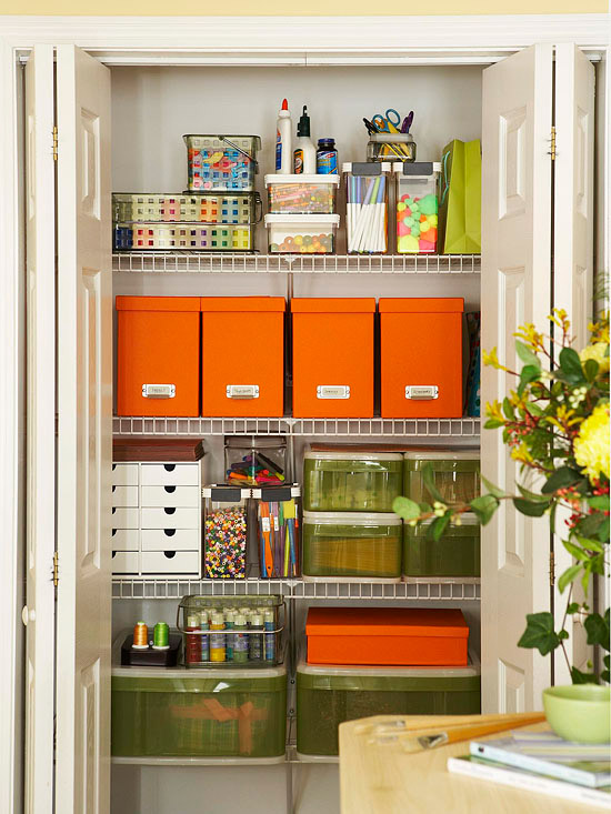 Inspiration Craft Closet Organization The Medium
