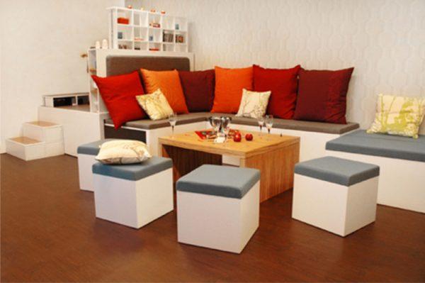 Inspirational Furniture For Small Spaces Living Room   Design Bookmark Medium