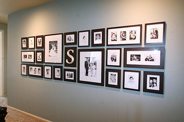Inspirational How To Arrange Family Photos In The Houseinterior Medium