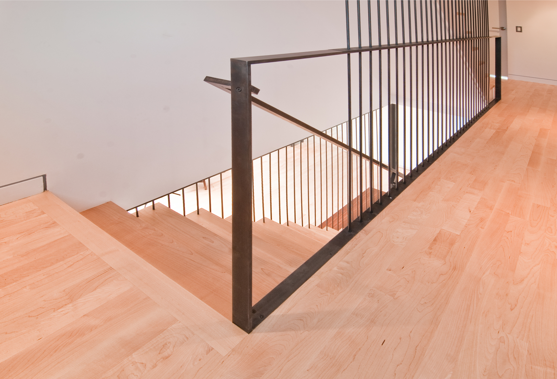 inspirational modern stairs   rail by build llc