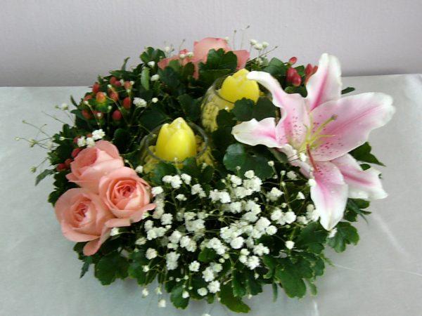 Inspirational Table Top Flower Arrangementmazzo Di Fiore Medium