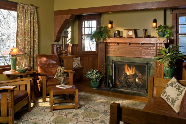 Interior Color Palettes For Arts   Crafts Homes Design Medium
