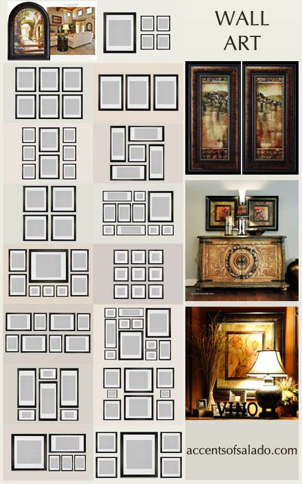 Looking 15 Templates How To Arrange Wall Art And Mirrors Happy Medium