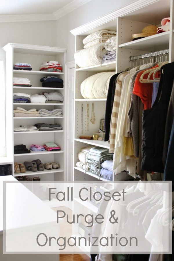 Looking Fall Closet Purge   Organization   My Upcoming Martha Medium