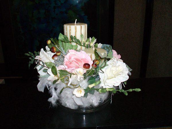 Looking Table Top Flower Arrangementmazzo Di Fiore Medium