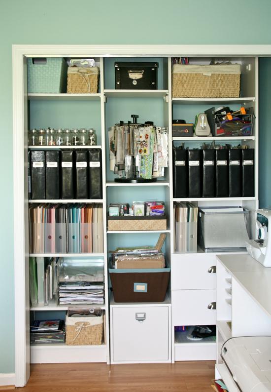 Nancy Damianos Scrap Room Pink Paislee Craft Storage Medium