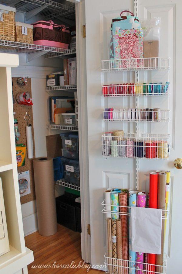 Office And Craft Closet Re Organization Borealis Medium