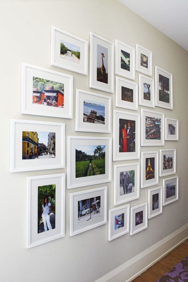 Our Favorite How To Arrange Photos On The Wall Medium