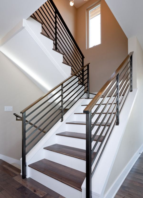 Our favorite Modern Handrail Designs That Make The Staircase Stand Out