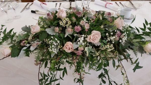 Our Favorite Top Table Arrangement  Wild Daisy Florist Medium