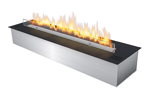 Perfect Ribbon Fireplace Insert Fla 2 Model E Burnerplanika Medium