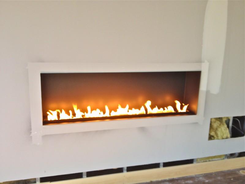 search fiamma linea 6018 linear ribbon fireplace wilton residence