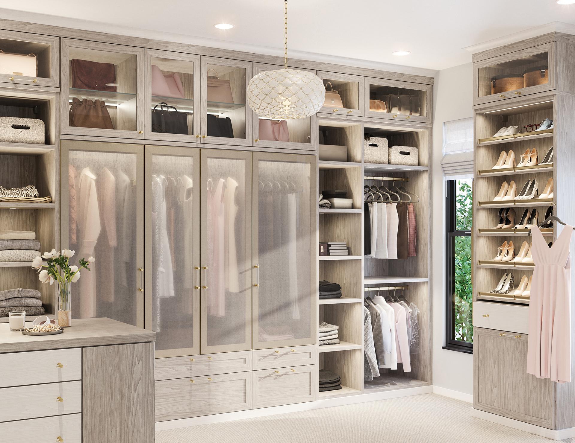 simply walk in closets designs   ideas by california closets