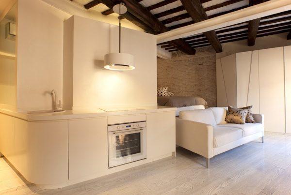 Small Studio Apartment Interior Design In Rome Medium