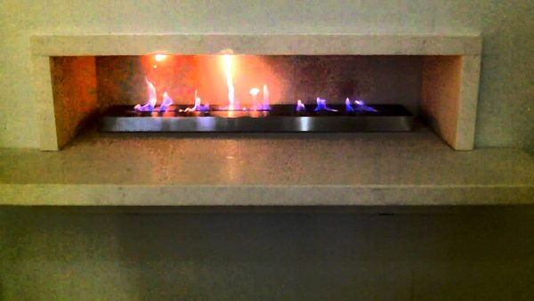 Tips 1000mm Bioethanol Ribbon Fire Burner Insert By Spirit Medium