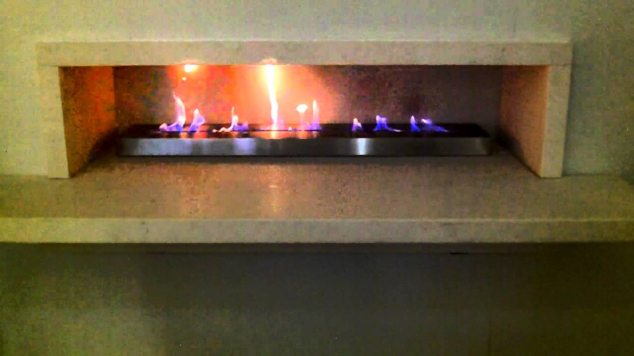 tips 1000mm bioethanol ribbon fire burner insert by spirit