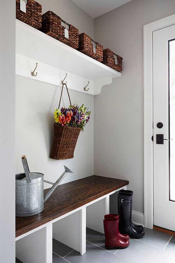 top 32 small mudroom and entryway storage ideas shelterness medium
