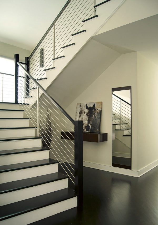 top contemporary stair railing  roselawnlutheran medium