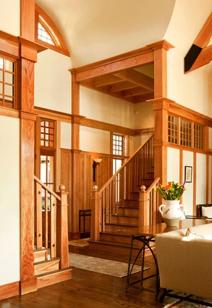 Traditional Staircase By Wayne Windham Architect PA Medium