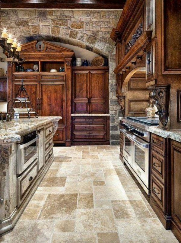 Tuscan Kitchen Design Tuscan Kitchen Style With Medium