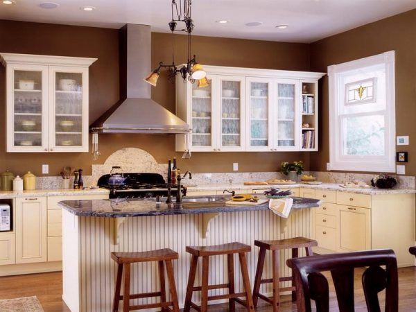 Best Paint Colors For Kitchens With White Cabinets Decor Medium