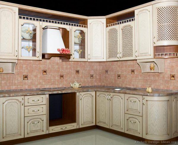 Best Whitewash Kitchen Cabinets  Roselawnlutheran Medium
