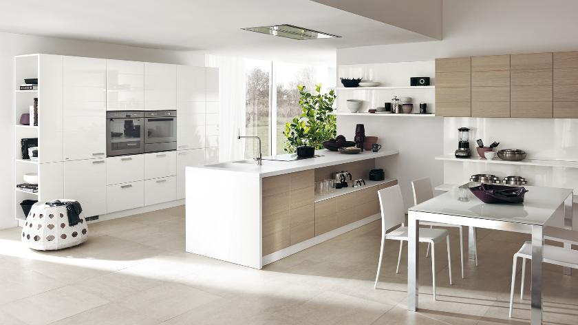 bore contemporary kitchens for large and small spaces